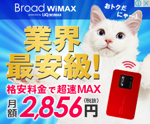 最安WiMAX